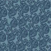 Inprint Indian Spice Market - 4509 - Blue Paisley - 2018 B50 - Cotton Fabric